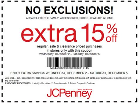 printable coupons for jcpenney my free jcpenney printable coupons