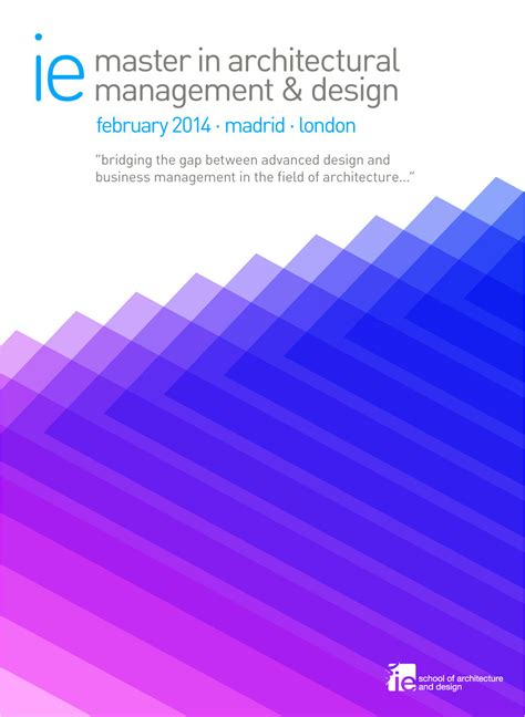 design management masters ie s master in architectural management and design archdaily