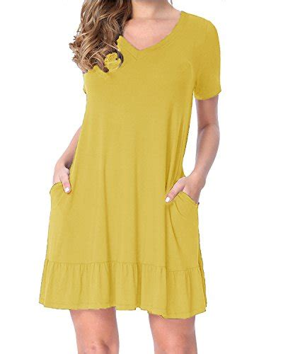Dress Import Leemin Yellow styleword s sleeve casual summer dress yellow s import it all