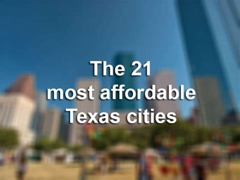 most affordable places to live on the west coast the 21 most affordable texas cities to live in houston