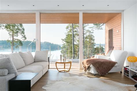 Finnish house and interior design connects with the