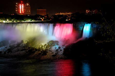niagara falls night niagara falls whatabsees