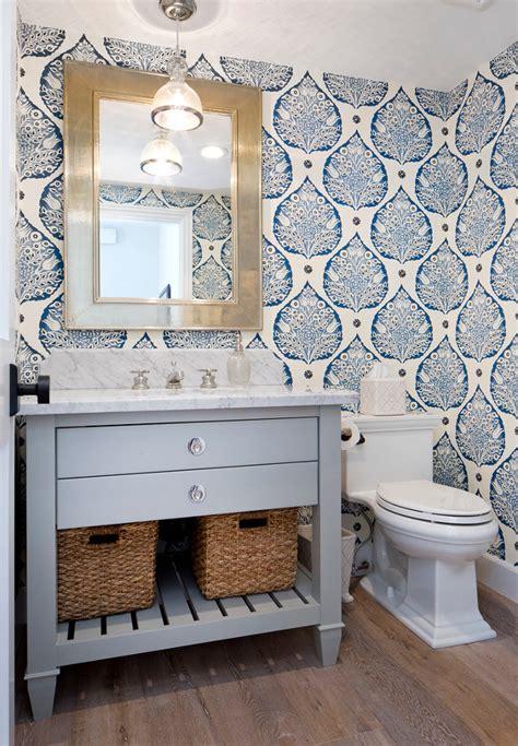 wallpapered bathrooms ideas interior design ideas home bunch interior design ideas