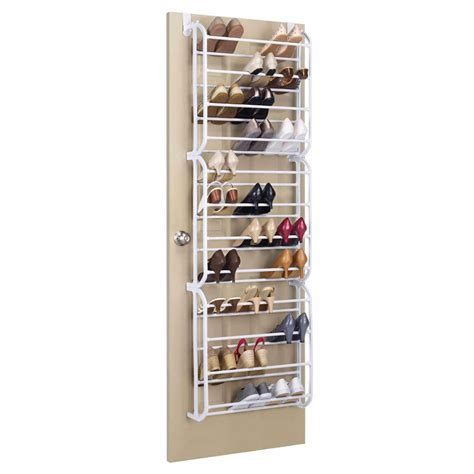 36 Pair Over The Door Shoe Organizer Gifts For Her Closet Door Rack