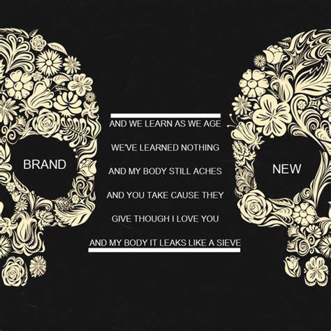 brand new tattoo quotes quote rock lyrics pop punk brand new band alternative