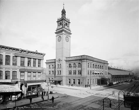 minneapolis chicago milwaukee st paul and pacific railroad depot
