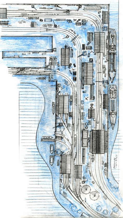 engi layout a strategy sodormodelrailroading brendam docks layout plans