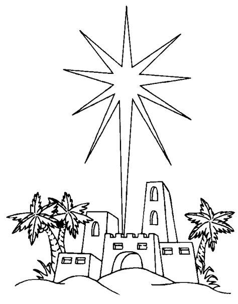 Disegni Di Natale Da Colorare Per Bambini Speciale Natale Coloring Pages Bethlehem
