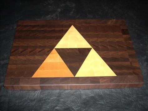 high tech cutting board coolest latest gadgets legend of zelda triforce cutting