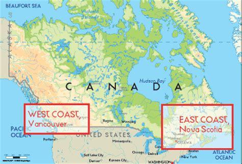 atlas map of canada canada wannasurf surf spots atlas surfing photos maps
