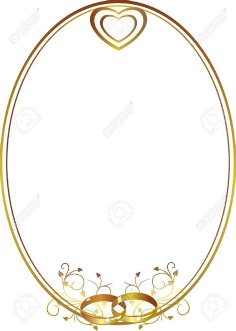 Wedding Borders With Rings by Wedding Ring Border Clipart 39