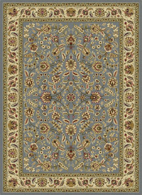 Farmhouse Area Rugs Tayse Laguna 5076 Blue Beige 7 10 Quot Rug Farmhouse Area Rugs By Plushrugs