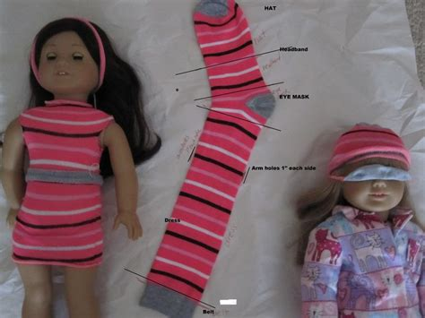 How To Make A Doll Dress Out Of Paper - diy american doll clothes and accessories make a