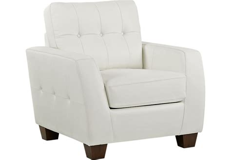 White Leather Armchairs by Santoro White Leather Chair Leather Chairs White
