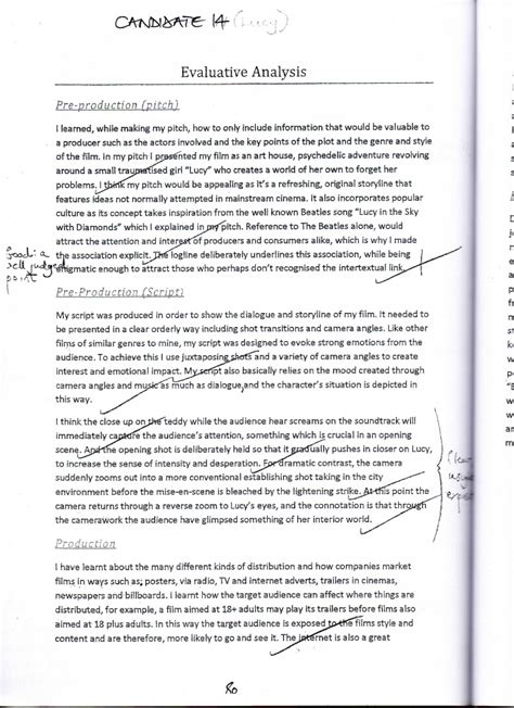 Media Studies Essay by Gcse Studies Evaluation Exles