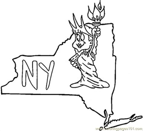 color page online kingston ny new york state map coloring page coloring book printable