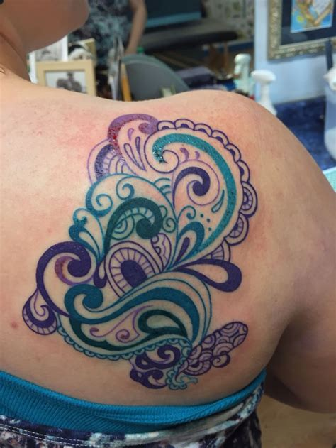 teal tattoo 25 best ideas about no outline on