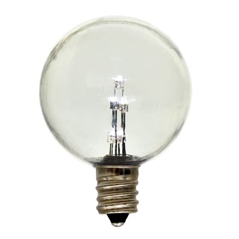 Led E12 Light Bulb Globe G40 E12 Candelabra Base Light Bulb Plastic