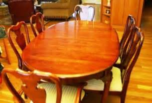 Solid Cherry Dining Room Set 899 Dining Room Set Solid Cherry For Sale In Bristol