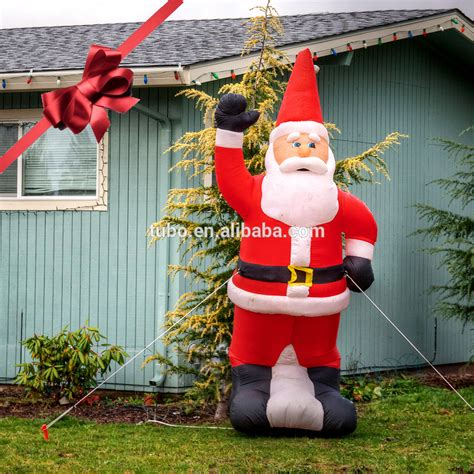big inflatable santa claus for outdoor buy big