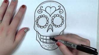 how to color sugar learn how to draw and color a sugar skull part 1