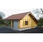 Garage &amp Carport  Naturabois Abris De Jardin Chalet