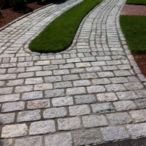 cobblestone driveway idea outdoor spaces pinterest cobblestone driveway driveways and