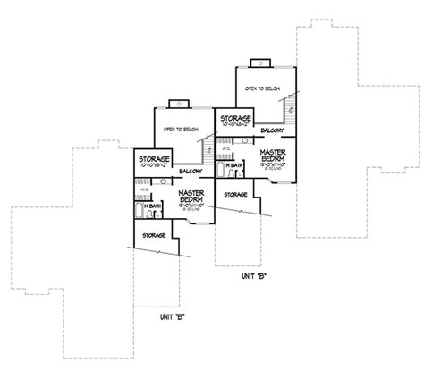 4 plex floor plans carol anne modern four plex plan 072d 0149 house plans