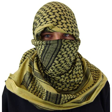 Shemag Syal Tactical Blackhawk Army Cotton Premium shemagh images usseek