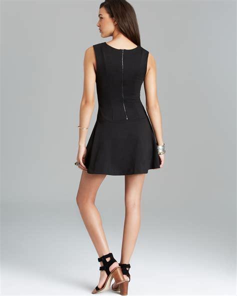 Dress Mini 311 lyst free mini dress cha cha in black