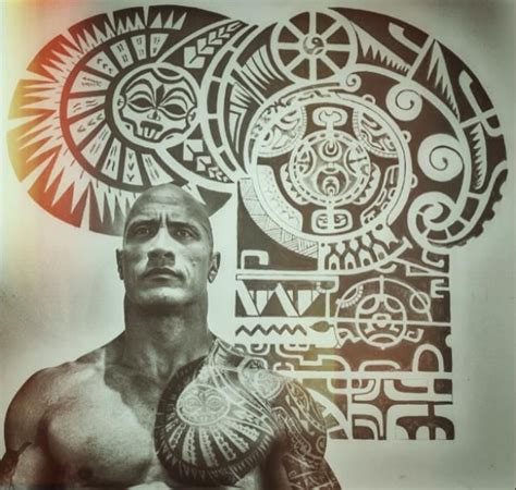 dwayne johnson tattoo making 17 best ideas about the rock tatoo on pinterest the rock