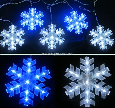 promotional led snowflake light christmas light suppliers