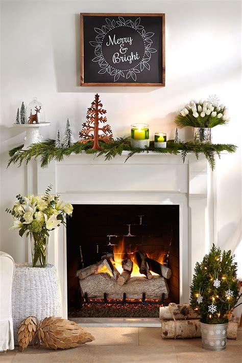 merry mantel  pine cuttings  christmas tree decoratio flickr