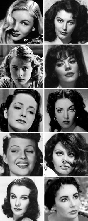 gorgeous old hollywood actresses old hollywood was everyone just gorgeous back then or