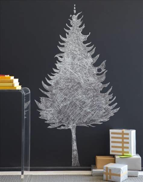 chalkboard christmas tree ideas wallumscom wall decor