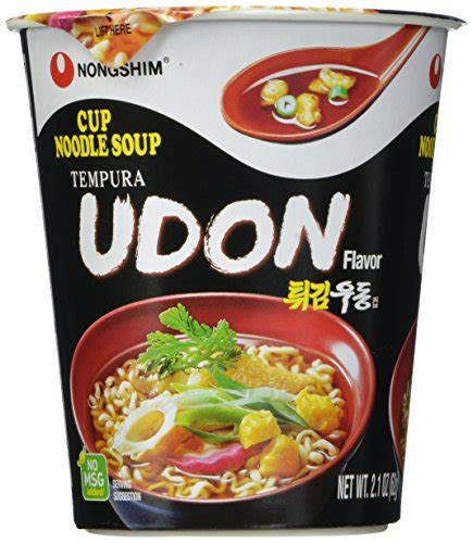 Udon Cup From nongshim cup noodle soup tempura udon 2 1 ounce pack of 6 11street malaysia pasta