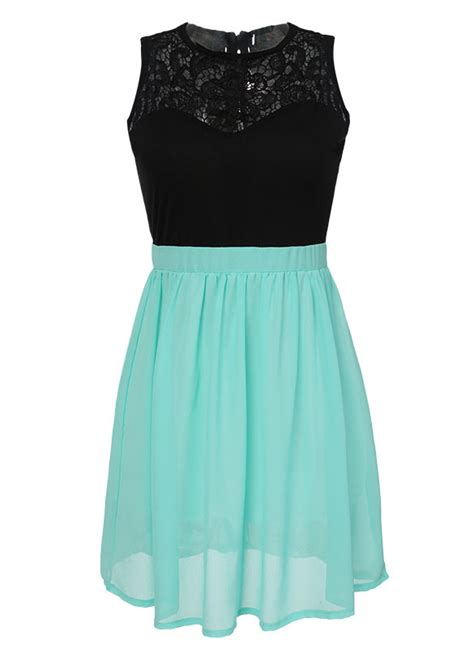 Closet Couture turquoise lace dress closet couture
