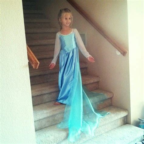 Elsa Handmade Costume - frozen elsa dress handmade stuff i want to make