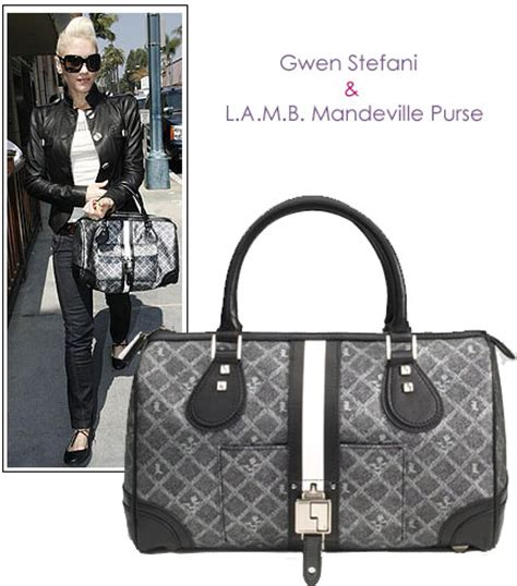 Gwen Stefani With Mandeville Purse style other designer bags page 39