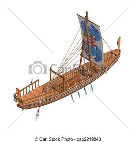 dessin bateau egyptien illustration 201 gyptien bateau banque d illustrations