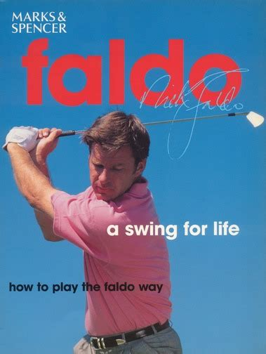 nick faldo a swing for life sir nick faldo