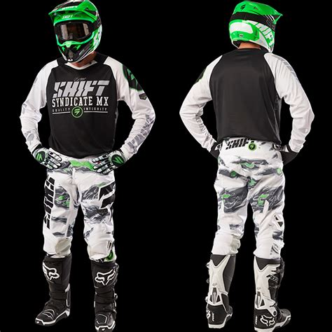 shift motocross gear 2016 shift strike gear combo black camo pro style mx