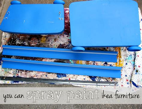 Can You Paint Ikea Furniture by Spray Paint Ikea Furniture Spoonful Of Imagination