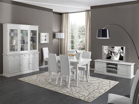 sedie per soggiorni soggiorno in legno bianco con tavolo sedie mobile tv e