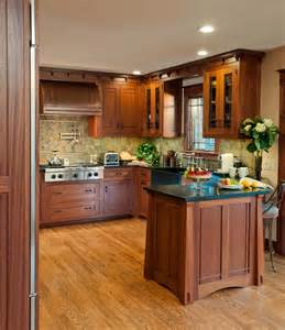 Craftsman Kitchen Design Arts Crafts Kitchen With Ellsworth Door Craftsman