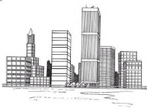 draw building how to draw a cityscape in 5 steps howstuffworks