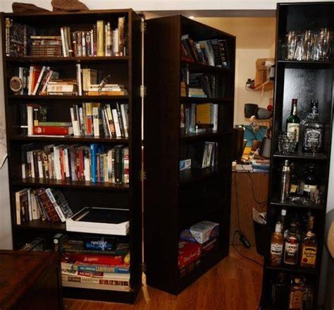 concealed room   bookcase door  pics izismilecom