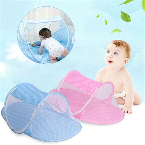 travel mosquito net for bed portable baby travel bed canopy crib play shades mosquito