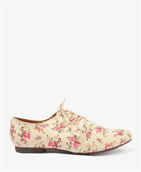 floral oxford shoes floral canvas oxfords forever21 2043351815 floral