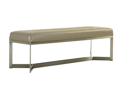 bench by bed macarthur park amador upholstered bed bench lexington